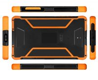 Highton Factory Cheapest 8 inch android 4G IP67 rugged tablet with NFC 2D Barcode Fingerprint