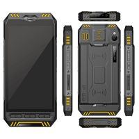 Cheapest Factory 5.5 inch IP68 1920*1080 Android7.1 PDA Scanning Solution with MSM8953 Octa-core  5000mAh Fingerprint 2D Barcode UHF RFID . Handheld,mobile computer.handheld scanner