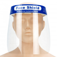 Anti-fog face shield full face isolation mask disposable plastic protection face shield
