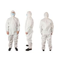 In stock SMS White Safety Protective Gear Suit Protective Suit Waterproof Protective Suit