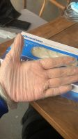 Disposable Latex Gloves Wearable Thick White PVC Rubber Nitrile Gloves Protective Gloves