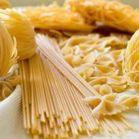 Long Pasta Spaghetti 100% whole wheat spaghetti with ISO certification bag 400g.