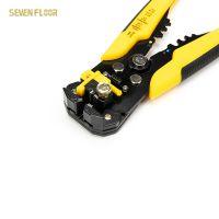 Multifunction AWG24-10(0.2-6mm2) Peeling Pliers Wire Stripper Cutter,hand tool