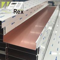 Baffle Aluminum Ceiling Metal Strip Linear Ceiling B Planks