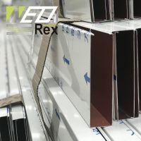 aluminum strip ceiling linear metal ceilings u shaped square tube pipe ceilings