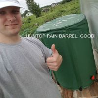 Flexible Collapsible PVC Rain Water Barrel HT1115A