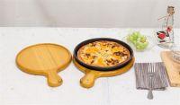 Folding Handle Wood Pizza Peel Paddle