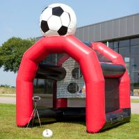 Newest inflatable speed football /soccer shooting game for sale