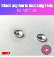 Glass aspheric focusing lens coated film D-ZK3