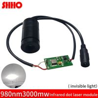 adjustable 980nm 3W infrared dot laser module
