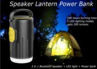 Senwok Light LED Rechargeable Camping Lantern - 200 Hours of Light from a Single Charge