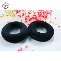 Custom wholesale leather Replacement headphone pad cushions for QC15 black