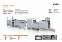 ZWFM automatic thermal bopp opp film laminating machine