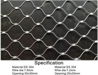 SHUOLONG Flexible stainless steel cable mesh