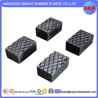 China Customized Black Rubber Part For Chemical Use