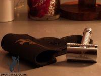 Sword Edge heavy duty Double Edge safety razor 120 grams Pewter head