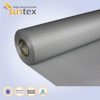 24 oz Thermal PU fiberglass fabric insulation fireproof material