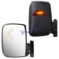 Shu-Ran Golf Cart LED Side Mirrors for EZ-GO, YMH and Club Car