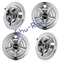 "Universal 8"" Golf Cart Hub Cap Wheel Cover"