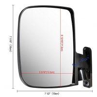 Shu-Ran Golf Cart LED Side Mirrors for EZ-GO, YMH and Club Car