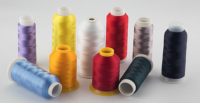100% polyester embroidery thread 120d/2 for embroidery