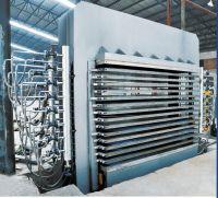 Hydraulic heavy duty plywwod hot press machine