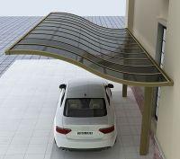 Polycarbonate roof sun shelter/ carport / parking shed