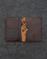 Leather label and printing