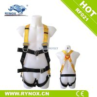RF021 CE certificate factory Professional industrial full body safety harness