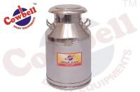 Cowbell Stainless Steel Milk Can Capacity 40 Ltr.