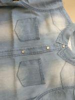 Boys denim long sleeve shirt