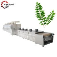 Microwave Curry Leaves Drying Sterilizing Equipment