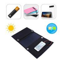 21W Sunpower Foldable Flexible Soft Elastic Portable Solar Mobile Phone Power Panel Cloth Charger