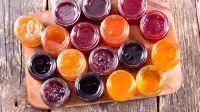 Jams (strawberry, cherry, rose, apricot, fig, raspberry, blackberry )