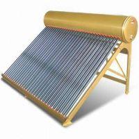 Copper Coil Pressurized Color Steel Solar water heater