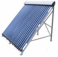 Split Pressuized Solar Collector