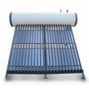 Compact Integrated heat pipe pressurized solar water heater