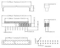 2.0 PH DIP Plug Connector - 4-80P - No.5420