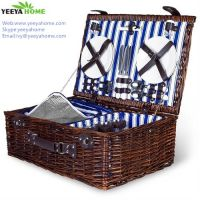 hot sale popular wicker picnic basket from china factory