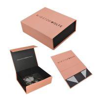 Custom logo magnetic closure gift boxes