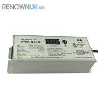 UV lamp electronic ballast with timer
