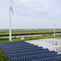 300m3/D off-Grid Wind and Solar Hybrid Desalination Unit