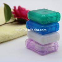 Promotional Logo OEM Printed plastic packing Dental Floss with Terylen/ Nylon/ PTFE/UHMWPE floss