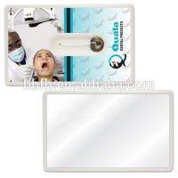 Credit card dental floss,dental floss with mirror,beef floss