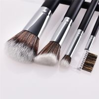 Makeup Brushes 32PCS Black Wooden Cosmetic Makeup Brush Foundation Powder Eyeshadow Cosmetic Brushes