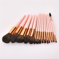 Drop Shipping Makeup Brushes Set 12 pcs/lot Eye Shadow Blending Eyeliner Eyelash Eyebrow Brushes For Makeup
