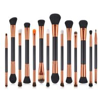 Drop Shipping 14Pcs Makeup Brushes Tool Set Cosmetic Powder Eye Shadow Foundation Blush Blending Beauty Make Up Brush Maquiagem