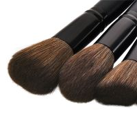 Drop Shipping 15 pcs Wood Handle Eyeshadow Eyebrow Eyeliner Blending Powder Smudge Brush Professional Eyes Makeup Brushes Set