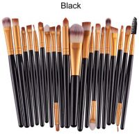 20Pcs Rose gold Makeup Brushes Set Pro Powder Blush Foundation Eyeshadow Eyeliner Lip Cosmetic Make up Brush Tool