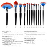 10 Pcs Makeup Brushes Set Advanced Essentials Cosmetics Set Tools Eyebrow Eyeshadow Contour Foundation Brush